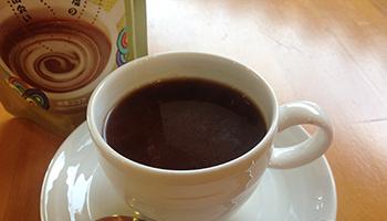ぬちまーすと黒糖を使ったココアでほっこり。